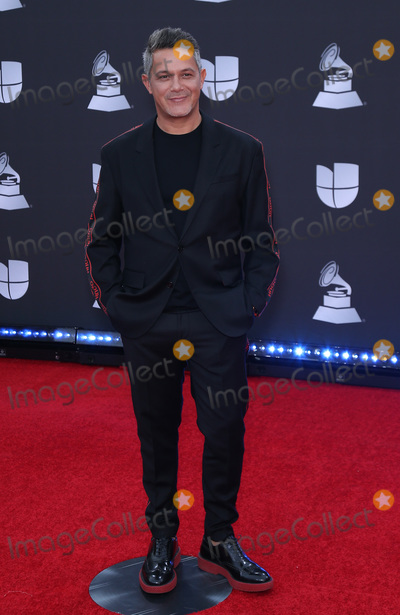 Alejandro Sanz Photo - 14 November 2019 - Las Vegas NV - Alejandro Sanz 2019 Latin Grammy Awards Red Carpet Arrivals at MGM Grand Garden Arena Photo Credit MJTAdMedia
