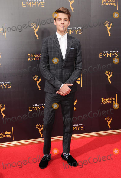 Corey Fogelmanis Photo - 10 September 2016 - Los Angeles California Corey Fogelmanis 2016 Creative Arts Emmy Awards - Day 1 held at Microsoft Theater Photo Credit Birdie ThompsonAdMedia