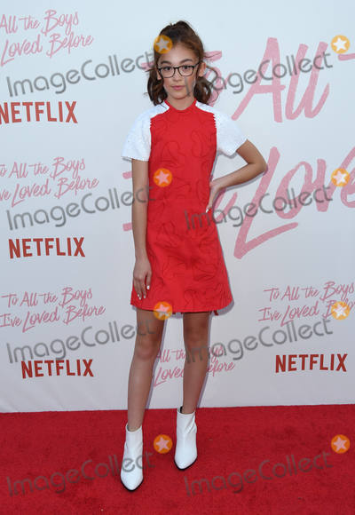 Anna Cathcart Photo - 16 August 2018 - Culver City California - Anna Cathcart Netflixs to All the Boys Ive Loved Before Los Angeles Screening held at Arclight Culver City Photo Credit Birdie ThompsonAdMedia