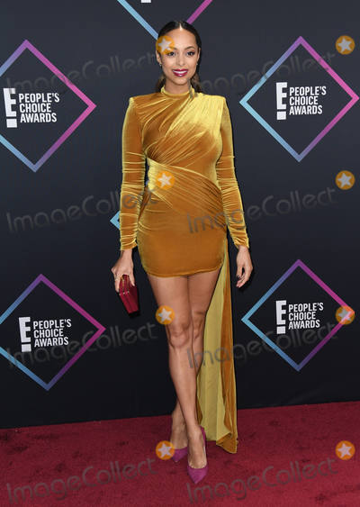 Amber Stevens Photo - 11 November 2018 - Santa Monica California - Amber Stevens West 2018 E Peoples Choice Awards - Arrivals  held at Barker Hangar Photo Credit Birdie ThompsonAdMedia