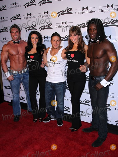 Chippendales Dancers Photo - 12 February 2011 - Las Vegas Nevada - Ronnie Magro Chippendales Chicks Chippendales dancers Ronnie Magro from MTV Jersey Shore guest hosts Chippendales in Las Vegas at the Rio All Suite Hotel Casino Photo MJTAdMedia