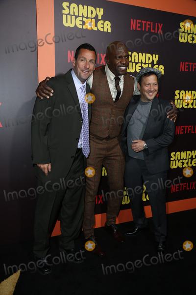 Adam Sandler Photo - 7 April 2017- Hollywood  California -Adam Sandler Terry Crews Rob Schneider the premiere of Netflixs Sandy Wexler Photo Credit PMAAdMedia