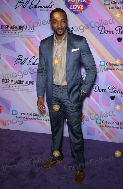 Anthony Mackie Photo - 16 March 2019 - Las Vegas NV - Anthony Mackie  Keep Memory Alive Honors Lionel Richie at the 23rd Annual Power Of Love Gala at MGM Grand Garden Arena Photo Credit MJTAdMedia