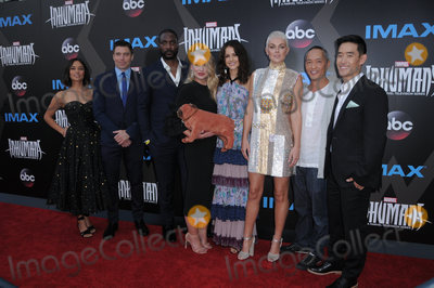 Anson Mount Photo - 28 August  2017 - Universal City California - Sonya Balmores Anson Mount Eme Ilkwuakor Ellen Woglom Isabelle Cornish Serinda Swan Ken Leung Mike Moh IMAX Marvels Inhumans World Premiere held at Universal Citywalk in Universal City Photo Credit Birdie ThompsonAdMedia