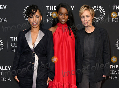 Amirah Vann Photo - 19 November 2019 - Beverly Hills California - Amirah Vann Aja Naomi King Liza Weil The Paley Center Celebrates The Final Season Of How To Get Away With Murder held at The Paley Center for Media Photo Credit Birdie ThompsonAdMedia