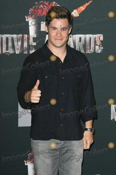 Adam DeVine Photo - 13 April 2014 - Los Angeles California - Adam DeVine 2014 MTV Movie Awards held at Nokia Theatre LA Live Photo Credit AdMedia