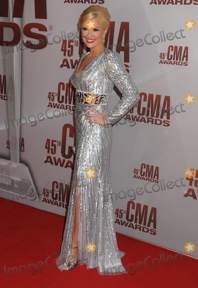 Allison DeMarcus Photo - 09 November 2011 - Nashville Tennessee - Allison DeMarcus The 45th Annual CMA Awards Country Musics Biggest Night held at Bridgestone Arena Photo Credit Byron PurvisAdMedia
