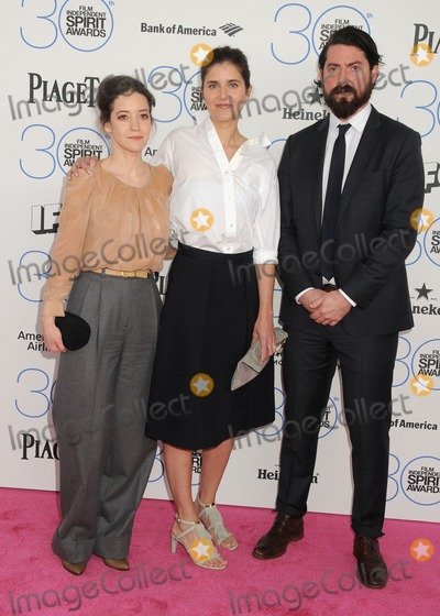 Anja Marquardt Photo - 21 February 2015 - Santa Monica California - Brooke Bloom Anja Marquardt 2015 Film Independent Spirit Awards - Arrivals held at Santa Monica Beach Photo Credit Byron PurvisAdMedia