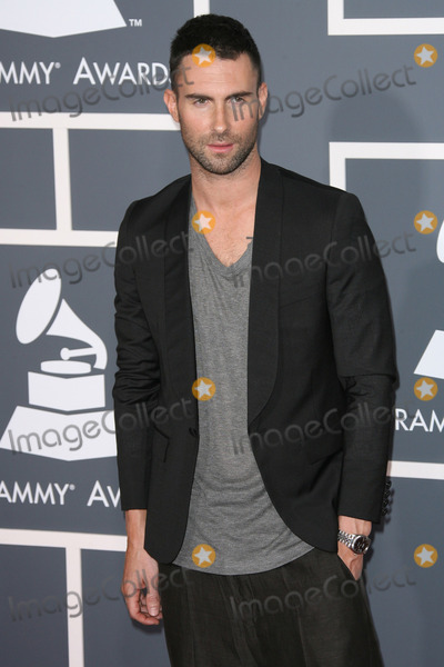 Adam Levine Photo - 13 February 2011 - Los Angeles California - Adam Levine The 53rd Annual GRAMMY Awards held at Staples Center Photo Credit AdMedia Photo AdMedia