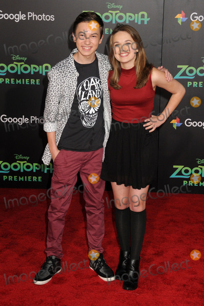Alyssa Jirrels Photo - 17 February 2016 - Hollywood California - Hayden Byerly Alyssa Jirrels Zootopia Los Angeles Premiere held at the El Capitan Theatre Photo Credit Byron PurvisAdMedia