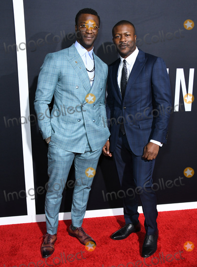 Aldis Hodges Photo - 24 February 2020 - Hollywood California - Aldis Hodge Edwin Hodge The Invisible Man Los Angeles Premiere held at the TCL Chinese Theatre Photo Credit Birdie ThompsonAdMedia