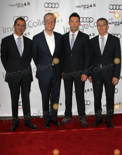 Andre Lotterer Photo - 26 April 2012 - Los Angeles California - Benoit Treluyer Audi of America CEO Scott Keogh Andre Lotterer and Marcel Fasslerr Audi Celebrates The US Premiere Of Truth In 24 II Held at AV Vibiana Photo Credit Kevan BrooksAdMedia