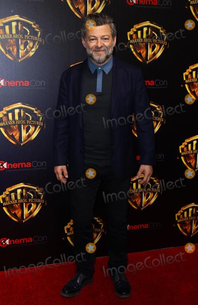 Andy Serkis Photo - 24 April 2018 - Las Vegas Nevada -  Andy Serkis  Warner Brothers Studio Presentation at CinemaCon 2018 at Caesars Palace Photo Credit MJTAdMedia