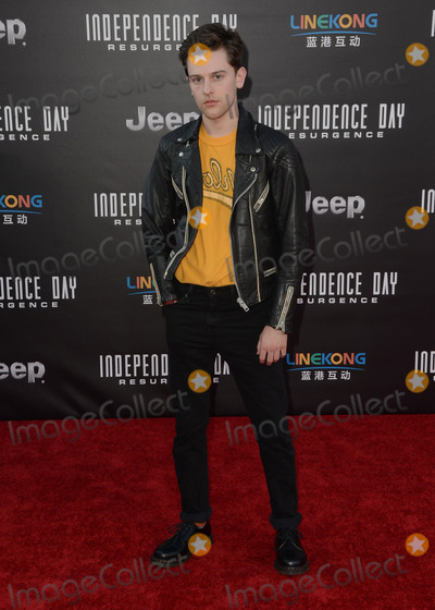 Travis Tope Photo - 20 June 2016 - Hollywood Travis Tope Arrivals for the Premiere Of 20th Century Foxs Independence Day Resurgence held at TCL Chinese Theater Photo Credit Birdie ThompsonAdMedia