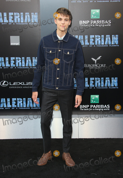 Corey Fogelmanis Photo - 17 July 2017 - Hollywood California - Corey Fogelmanis Valerian and the City of a Thousand Planets World Premiere held at TCL Chinese Theatre Photo Credit AdMedia Photo Credit F SadouAdMedia