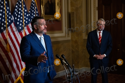 Supremes Photo - Senator Ted Cruz R-TX speaks during a press conference after President Trumps Supreme Court nominee Judge Amy Coney Barrett was confirmed by the Senate as the 115th justice to the Supreme Court on Capitol Hill Monday October 26th 2020AdMedia