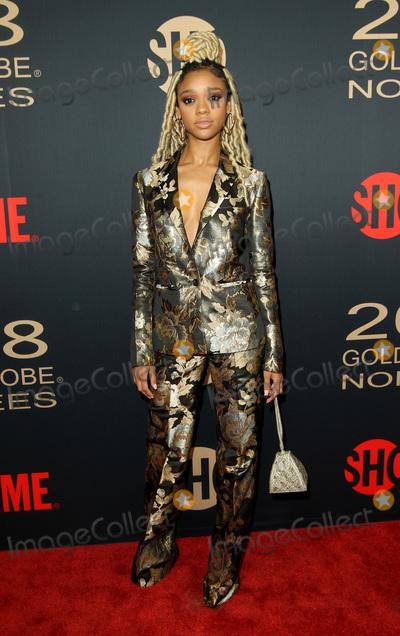 Tiffany Photo - 6 January 2018 - Los Angeles California - Tiffany Boone Showtime Golden Globe Nominee Celebration held at the Sunset Tower Hotel in Los Angeles Photo Credit AdMedia
