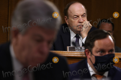 Alabama Photo - WASHINGTON DC - APRIL 20 United States Senator Richard Shelby (Republican of Alabama) Ranking Member US Senate Committee on Appropriations questions members of the Biden administration during a hearing in the Dirksen Senate Office Building on Capitol Hill on April 20 2021 in Washington DC Biden cabinet members including Transportation Secretary Pete Buttigieg testified about the American Jobs Plan the administrations 23 trillion infrastructure plan that has yet to win over a single Republican in Congress Credit Chip Somodevilla   Pool via CNP