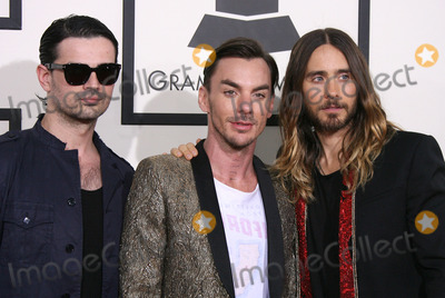 30 Seconds to Mars Photo - 26 January 2014 - Los Angeles California - Tomo Milicevic Shannon Leto Jared Leto 30 Seconds To Mars 56th GRAMMY Awards held at the Staples Center Photo Credit AdMedia
