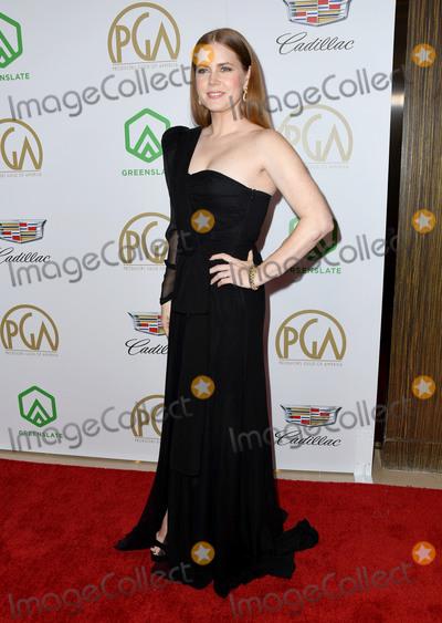 Amy Adams Photo - 19 January 2019 - Beverly Hills California - Amy Adams 2019 Annual Producers Guild Awards  held at Beverly Hilton Hotel Photo Credit Birdie ThompsonAdMedia