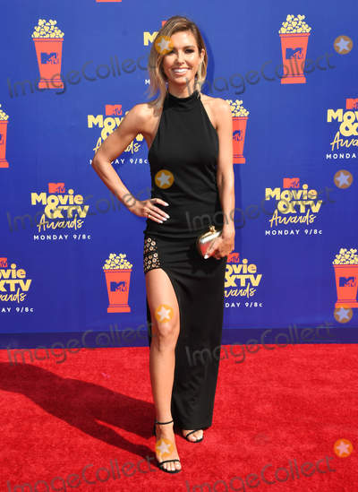 Audrina Patridge Photo - 15 June 2019 - Santa Monica California - Audrina Patridge 2019 MTV Movie and TV Awards held at Barker Hangar Photo Credit Birdie ThompsonAdMedia