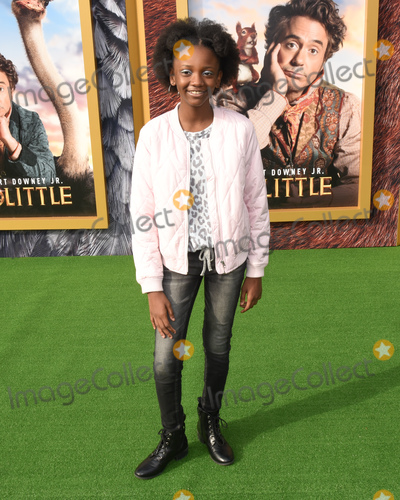 Aria Brooks Photo - 11 January 2020 - Westwood California - Aria Brooks Premiere Of Universal Pictures Dolittle held at the Regency Village Theatre Photo Credit Billy BennightAdMedia