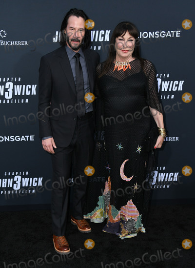 Angelica Houston Photo - 15 May 2019 - Hollywood California - Keanu Reeves Angelica Houston John Wick Chapter 3 - Parabellum Special Screening Los Angeles held at the TCL Chinese Theatre Photo Credit Birdie ThompsonAdMedia