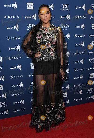 Alexandra Shipp Photo - 28 March 2019 - Beverly Hills California - Alexandra Shipp 30th Annual GLAAD Media Awards held at Beverly Hilton Hotel Photo Credit Birdie ThompsonAdMedia