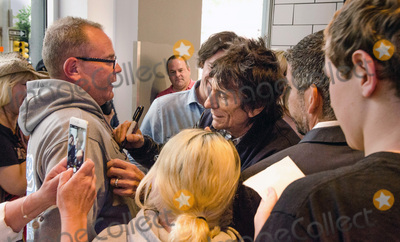Andy Warhol Photo - 19 June 2015 - Pittsburgh Pennsylvania - Ronnie Wood Ronnie Wood of The Rolling Stones tours the Andy Warhol Museum in advance of their Zip Code Tour stop performance Saturday night at Heinz Field in Pittsburgh Photo Credit Kevin R CookeAdMedia