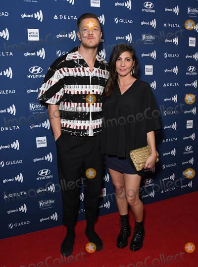 Dan Reynolds Photo - 28 March 2019 - Beverly Hills California - Dan Reynolds 30th Annual GLAAD Media Awards held at Beverly Hilton Hotel Photo Credit Birdie ThompsonAdMedia