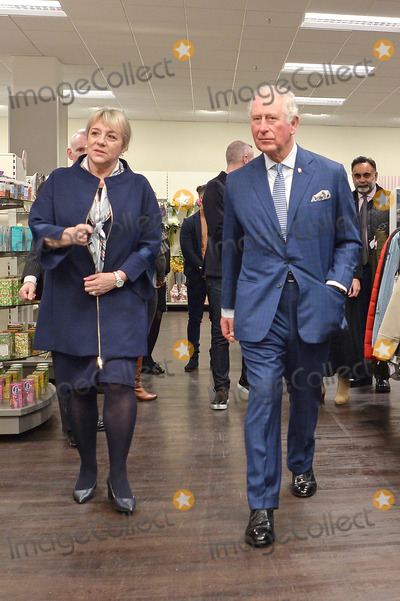 TK Photo - 04022020 - Prince Charles Visits the TK Maxx Tooting store to meet with young people and their mentors who have participated in TK Maxxs Get into Retail programme with The Princes Trust  in London Photo Credit ALPRAdMedia