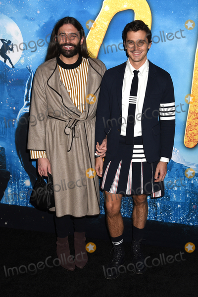 Antoni Porowski Photo - 16 December 2019 - New York New York - Jonathan Van Ness and Antoni Porowski at the World Premiere of CATS at Alice Tully Hall in Lincoln Center Photo Credit LJ FotosAdMedia