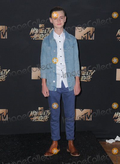 Jaeden Liebirlier Photo - 07 May 2017 - Los Angeles California - Jaeden Liebirlier 2017 MTV Movie Awards  held at Shrine Auditorium in Los Angeles Photo Credit Birdie ThompsonAdMedia