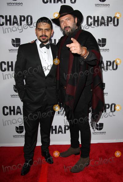 Rodrigo Abed Photo - 19 April 2017 - Los Angeles California - Alejandro Aguilar and Rodrigo Abed Univisions El Chapo Original Series Premiere Event held at The Landmark Theatre Photo Credit AdMedia
