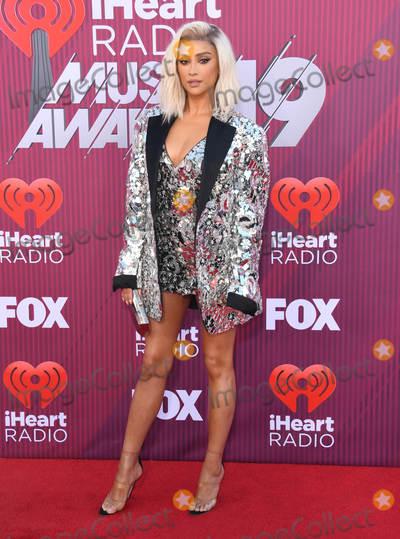Shay Mitchell Photo - 14 March 2019 - Los Angeles California - Shay Mitchell 2019 iHeart Radio Music Awards held at Microsoft Theater Photo Credit Birdie ThompsonAdMedia