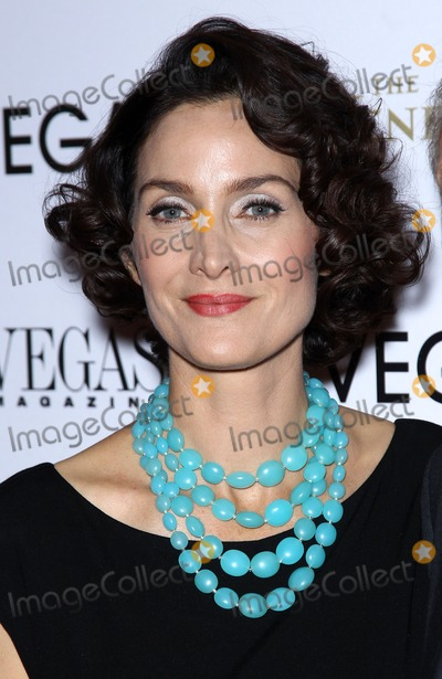 Carrie-Anne Moss Photo - 30 October 2012 - Las Vegas Nevada - Carrie-Anne Moss  Vegas Magazines Annual Mens issue cover party with Carrie-Anne Moss at Paiza Club at The Venetian  Photo Credit MJTAdMedia