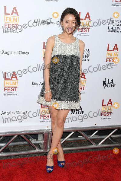 Ah-sung Ko Photo - 11 June 2014 - Los Angeles California - Ah-sung Ko 20th Annual Los Angeles Film Festival Opening Night Premiere of Snowpiercer held at Regal Cinemas LA Live Photo Credit Byron PurvisAdMedia
