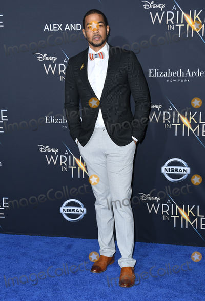 Alano Miller Photo - 26 February 2018 - Hollywood California - Alano Miller Disneys A Wrinkle In Time World Premiere held at El Capitan Theatre Photo Credit Birdie ThompsonAdMedia