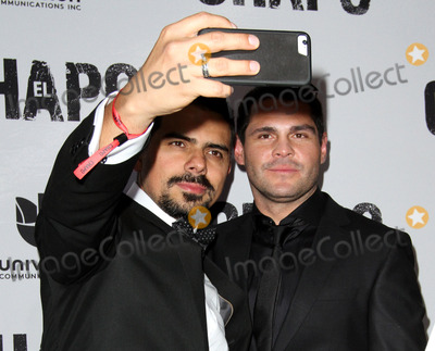 Alejandro Aguilar Photo - 19 April 2017 - Los Angeles California - Alejandro Aguilar and Marco De La O Univisions El Chapo Original Series Premiere Event held at The Landmark Theatre Photo Credit AdMedia