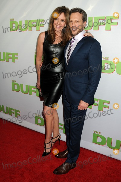 Ari Sandel Photo - 12 February 2015 - Hollywood California - Allison Janney Ari Sandel The Duff Los Angeles Fan Screening held at the TCL Chinese 6 Theatres Photo Credit Byron PurvisAdMedia