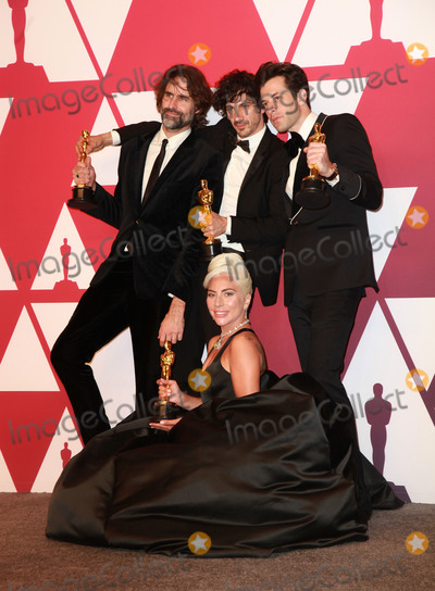 Anthony Rossomando Photo - 24 February 2019 - Hollywood California- Lady Gaga Mark Ronson Anthony Rossomando and Andrew Wyatt 91st Annual Academy Awards presented by the Academy of Motion Picture Arts and Sciences held at Hollywood  Highland Center Photo Credit Theresa ShirriffAdMedia