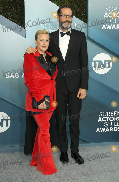 Eric White Photo - 19 January 2020 - Los Angeles California - Patricia Arquette Eric White 26th Annual Screen Actors Guild Awards held at The Shrine Auditorium Photo Credit AdMedia