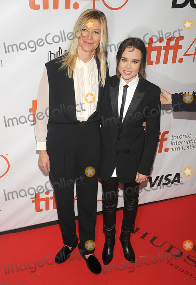 Ellen Page Photo - 13 September 2015 - Toronto Ontario Canada - Ellen Page (R) and Samantha Thomas Freeheld Premiere during the 2015 Toronto International Film Festival held at Roy Thomson Hall Photo Credit Brent PerniacAdMedia