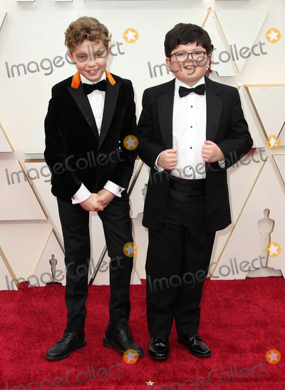 Archie Yates Photo - 09 February 2020 - Hollywood California - Archie Yates Roman Griffin Davis 92nd Annual Academy Awards presented by the Academy of Motion Picture Arts and Sciences held at Hollywood  Highland Center Photo Credit AdMedia