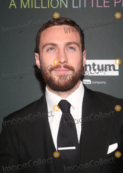 Aaron Taylor-Johnson Photo - 4 December 2019 - West Hollywood California - Aaron Taylor-Johnson Special Screening Of Momentum Pictures A Million Little Pieces held at The London Hotel Photo Credit FSAdMedia