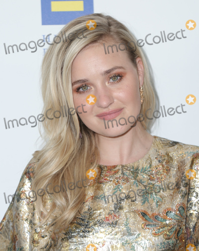Aly Michalka Photo - 30 March 2019 - Los Angeles California - AJ Michalka The Human Rights Campaign 2019 Los Angeles Gala Dinner held at JW Marriott Los Angeles at LA LIVE Photo Credit PMAAdMedia