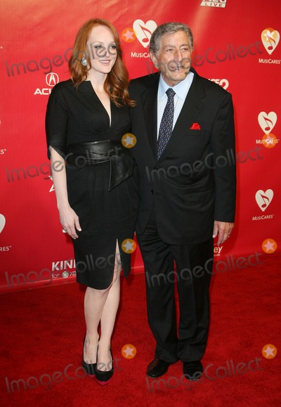 Antonia Bennett Photo - 10 February 2012 - Los Angeles California - Tony Bennett and Antonia Bennett 2012 MusiCares Person Of the Year Gala Honoring Paul McCartney held at the Los Angeles Convention Center Photo Credit AdMedia