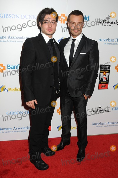 Andrew Lawrence Photo - 1 October 2011 - Beverly Hills California - Andrew Lawrence and Joey Lawrence 1st Annual American Hero Dog Awards Presented By Cesar Canine Cuisine held at The Beverly Hilton Hotel Photo Credit Byron PurvisAdMedia