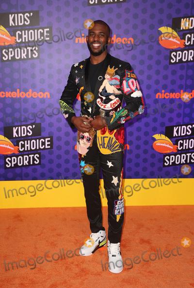 Chris Paul Photo - 19 July 2018-  Santa Monica California - Chris Paul Nickelodeon Kids Choice Sports Awards 2018 held at Barker Hangar Photo Credit Faye SadouAdMedia