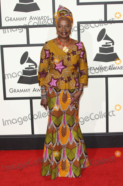 Angelique Kidjo Photo - 15 February 2016 - Los Angeles California - Angelique Kidjo 58th Annual GRAMMY Awards held at the Staples Center Photo Credit AdMedia